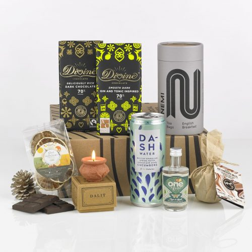 Wellbeing giftbox by Social Supermarket – photo by Dean O'Brien